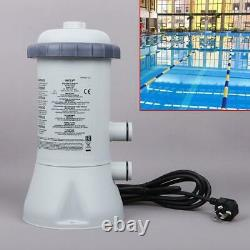 1000GAL 220V Filter Pump Tools For Intex Swimming Pool Fast Ground Steel Frame