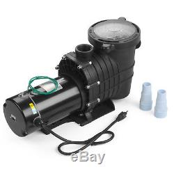 110-240V InGround Swimming Pool 2.0HP Portable Pump Motor WithFilter Above Ground