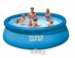 12' x 30 Intex Easy Set Inflatable Above Ground Swimming Pool Pump & Filter