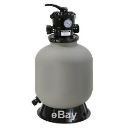 16 Sand Filter Swimming Pool In-ground Above Ground 7-Way Valve Port 21000 GAL