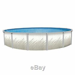 18' x 52 Whispering Springs Above Ground Pool with Unibead Liner Ladder & Filter