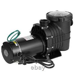 1.5HP Swimming Pool Pump Filter Motor withStrainer Generic In/Above Ground