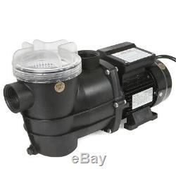 2400GPH 12 Sand Filter Above Ground Swimming Pool Pump Intex Compatible