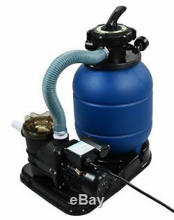 2400GPH 13 Sand Filter 3/4 HP Above Ground Swimming Pool Pump intex compatible