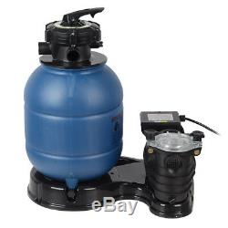 2450GPH 13 Sand Filter Above Ground 10000GAL Swimming Pool Pump New Pro