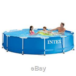 3D Swimming Pool 4ft Pools Best Rated PVC With Filter Above Ground Kids Adults