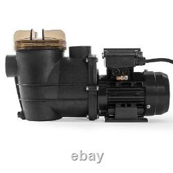 3/4 HP High Flo Above Ground Swimming Pool Pump with Strainer Filter Basket ETL