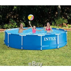 ABOVE GROUND SWIMMING POOL 10 ft. X 30 in. Intex Metal Frame with Filter Pump