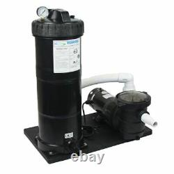 Above Ground 1.5 HP 150 Sq Ft Cartridge Filter System with Element