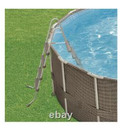 Above Ground Framed Swim Pool 18ft Wide X 48 Inches High + Ladder Filter Pump