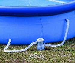 Above Ground Pool 10ft x 30in Swimming Pool w Filter Pump for Family/Kids/Adults