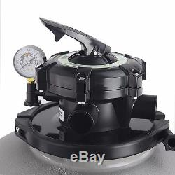 Above Ground Swimming Pool Pump 4500GPH 19 Sand Filter / 1HP intex compatible