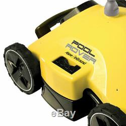 Aquabot Robotic Pool Cleaner + Above-Ground Pool Vacuum for Low Filter Systems