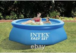 BRAND NEW INTEX 12ft x 30 IN EASY SET ABOVE GROUND POOL WITH FILTER PUMP 28131EH
