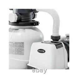 BRAND NEW Intex 2100 GPH Above Ground Pool Sand Filter Pump Automatic Timer