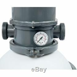 BestWay Flowclear 2000 Gallon Large Above Ground Swimming Pool Sand Filter Pump