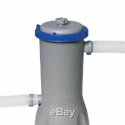 Bestway 102 x 67 In Rectangular Frame Above Ground Pool withCartridge Filter Pump