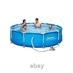 Bestway 10' x 30 Steel Pro Frame Above Ground Swimming Pool Set (Open Box)
