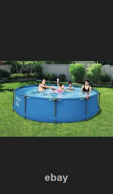 Bestway 10ft x 30 inch Steel Pro Frame Above Ground Pool Set WITH FILTER PUMP