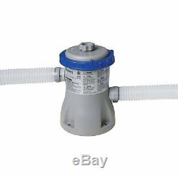 Bestway 12ft x 30in Fast Set Above Ground Swimming Pool with Filter Pump (2 Pack)