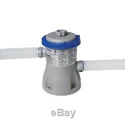 Bestway 12ft x 30in Fast Set Up Inflatable Above Ground Pool with Filter Pump