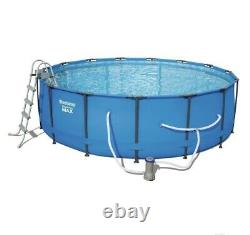 Bestway 15' x 48 Round Steel Pro MAX Above Ground Pool Set wPump FREE SHIPPING