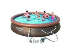 Bestway 15ft x 33 Fast Set Above Ground Pool With Filter Pump FAST SHIPPING