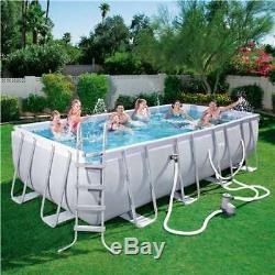 Bestway 18ft x 9ft x 48in Above Ground Pool with Ladder & Filter Pump (Damaged)