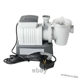 Bestway 2200Gallon Above Ground Swimming Pool Sand Filter Pump System Authorized