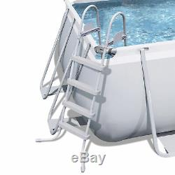 Bestway 56536E-BW 18ft x 9ft x 48in Above Ground Pool with Ladder & Filter Pump