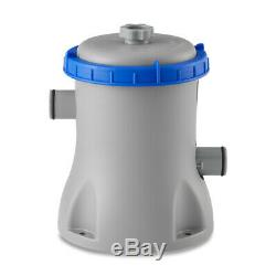 Bestway 58385E-BW Flowclear 530 GPH Above Ground 3800 Gallon Pool Filter Pump