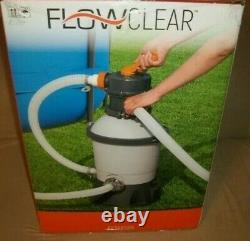 Bestway 58516E Flowclear 800 GPH Pump for Above Ground Pools Sand Filter Pump