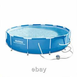 Bestway Above Ground Swimming Pool Steal Max Pro Frame with filter pump