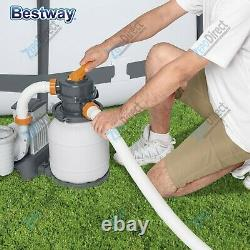 Bestway Flowclear 1500 Gallon Above Ground Swimming Pool Sand Filter Pump