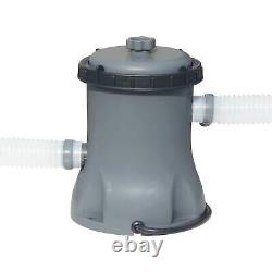Bestway Flowclear 530 GPH Above Ground 3800 Gallon Pool Filter Pump (Open Box)