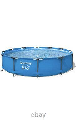 Bestway Frame Steel Pro MAX Above Ground Pool Set 12 x 30 with Filter Pump