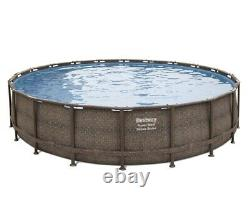 Bestway Power Steel Deluxe Series 20' x 48Above Ground Pool Set FREE SHIPPING