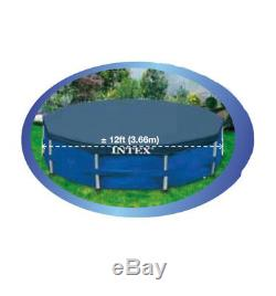 Bestway Steel Pro 12' x 30 Frame Above Ground Pool Set with Filter Pump + Cover