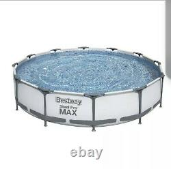 Bestway Steel Pro MAX 12' x 30 Above Ground Pool Set, W filter Model 56417E