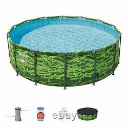 Bestway Steel Pro MAX 14' x 48 Above Ground Pool Set BRAND NEW FREE SHIPPING