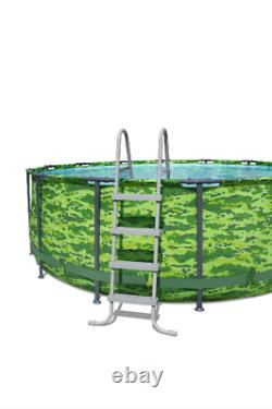 Bestway Steel Pro MAX 14' x 48 Above Ground Pool Set FAST FREE SHIP