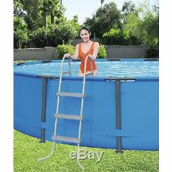 Bestway Steel Pro Max 15' x 42 Frame Above Ground Pool with Ladder & Filter Pump