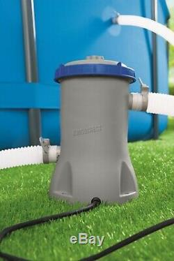 Bestway Swimming Pool Electric Flowclear Filter Pump 530 Gallon Per Hour 58383