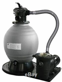 Blue Wave 22-Inch Sand Filter System with 1-1/2 HP Pump for Above Ground Pools