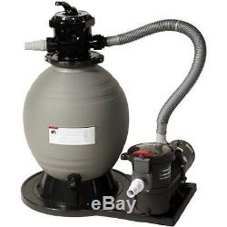 Blue Wave 22-in Sand Filter System with 1.5 HP Pump for Above Ground Pools