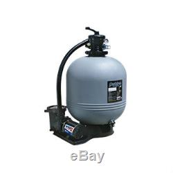 Carefree 16 Sand Filter Above Ground Pool System with 1HP SS Pump