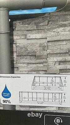 Coleman 16' x 10' x 48 Oval Swimming Pool Above Ground Filter/Pump & Ladder