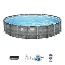 Coleman 22ft x 52 in Power Steel Above Ground Pool ORLANDO FL LOCAL PICK UP