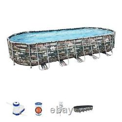 Coleman 26ft x 52in Power Steel Above Ground Pool ORLANDO FLORIDA LOCAL PICK UP