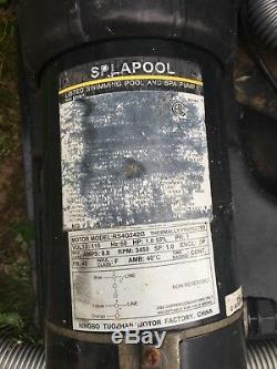 DE pool pump and filter PAC-Fab, used, working great, do not need anymore